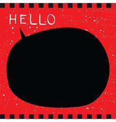 Punk card vector