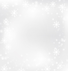 Christmas snow flake 1 vector