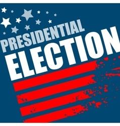 2016 usa presidential election poster vector