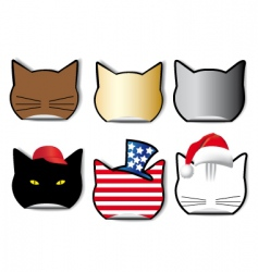cats vector image