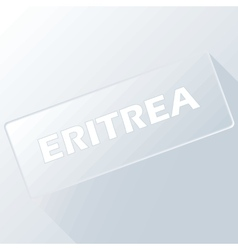 Eritrea unique button vector