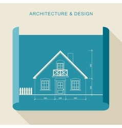 Architecture and design vector