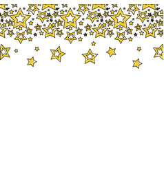 Grated stars christmas decoration backgroud vector