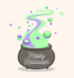 Happy halloween card background poster vector