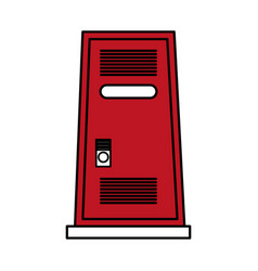 locker vector image