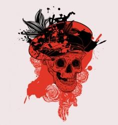 Russian skull vector
