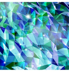 Abstract cyan background combination of triangle vector
