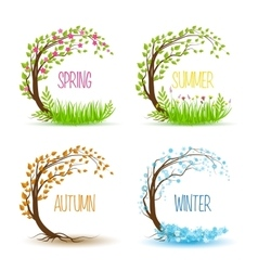 Seasonal tree vector