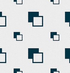 Active color toolbar icon sign seamless pattern vector