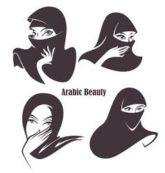 Arabian beauty vector
