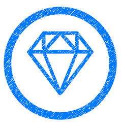 Diamond rounded grainy icon vector