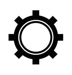 gear working machinery pin progresiruet leading vector image