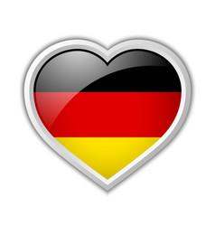 German heart icon vector