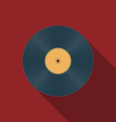 Music icons vinil v vector
