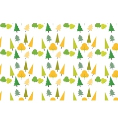 Autumn foliage concept pattern vector