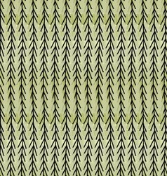 Artistic color brushed green chevrons vector