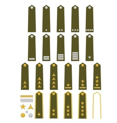 Czech army insignia vector