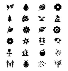 Nature icons 2 vector