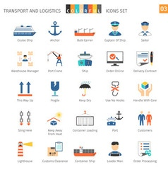 Transport colorful set 03 vector