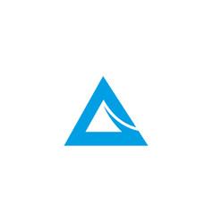 a letter alphabet business sport vector image