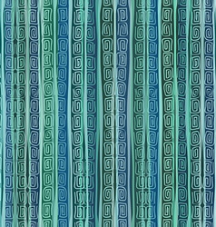 Abstract ethnic striped seamless pattern vector image vector image