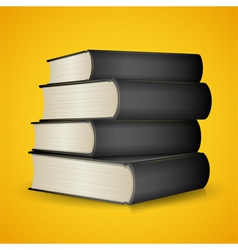 Black Books vector image vector image