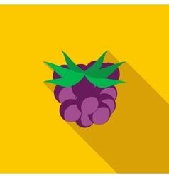 Blackberry icon flat style vector image