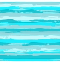 seamless pattern with blue brush strokes vector image