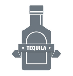 Tequila logo vintage style vector