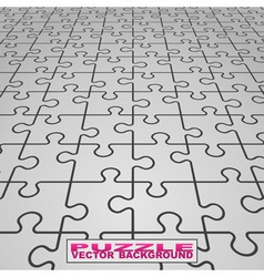 vector puzzle background vector image