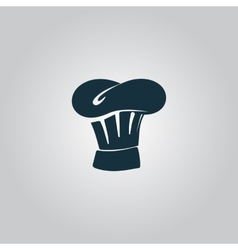 Chef hat icon sign and button vector