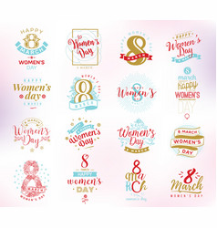 8 march womens day background vector