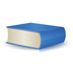Single Book vector image