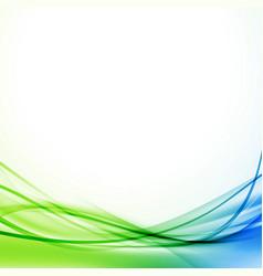 Contemporary modern abstract folder design vector