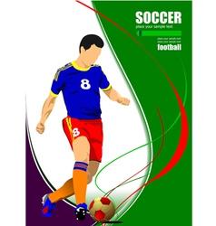 al 0919 soccer06 vector image