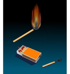 Match and matchbox vector
