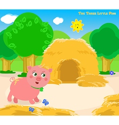The three little pigs 3 vector