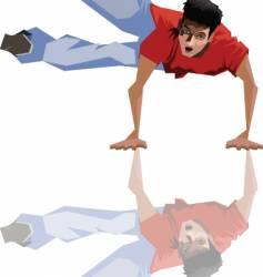 break dance vector image vector image