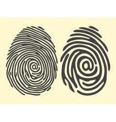 Finger print email vector