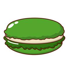 Macaroons icon cartoon style vector