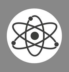 molecule laboratory chemistry dark design vector image