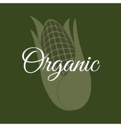 Organic food product vector