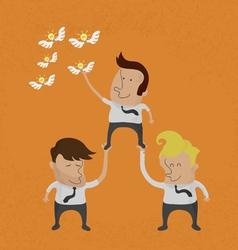 Teamwork2 vector image