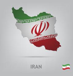 country iran vector image