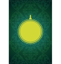 elegant card vector image