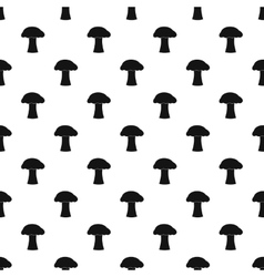 Mushroom pattern simple style vector image vector image
