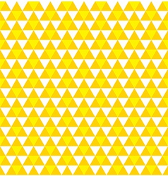 seamless triangle pattern background vector image vector image
