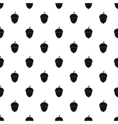 Acorn pattern simple style vector