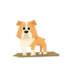 Bulldog Dog Breed vector image
