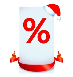 christmas discount vector image